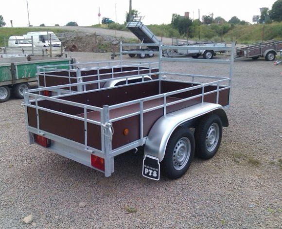 Remorca dublu ax 750 kg cat B marca Delje